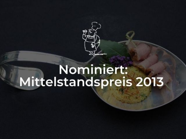 Nominiert für Mittelstandspreis 2013