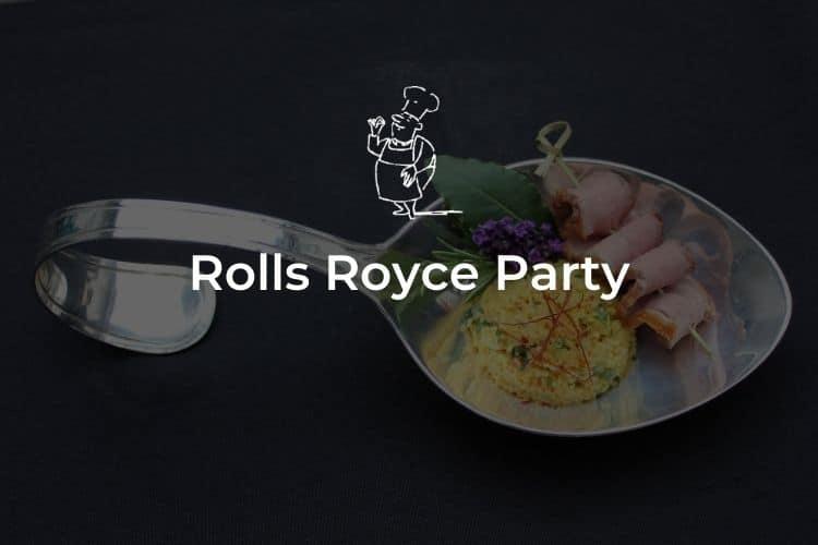 Rolls Royce Party
