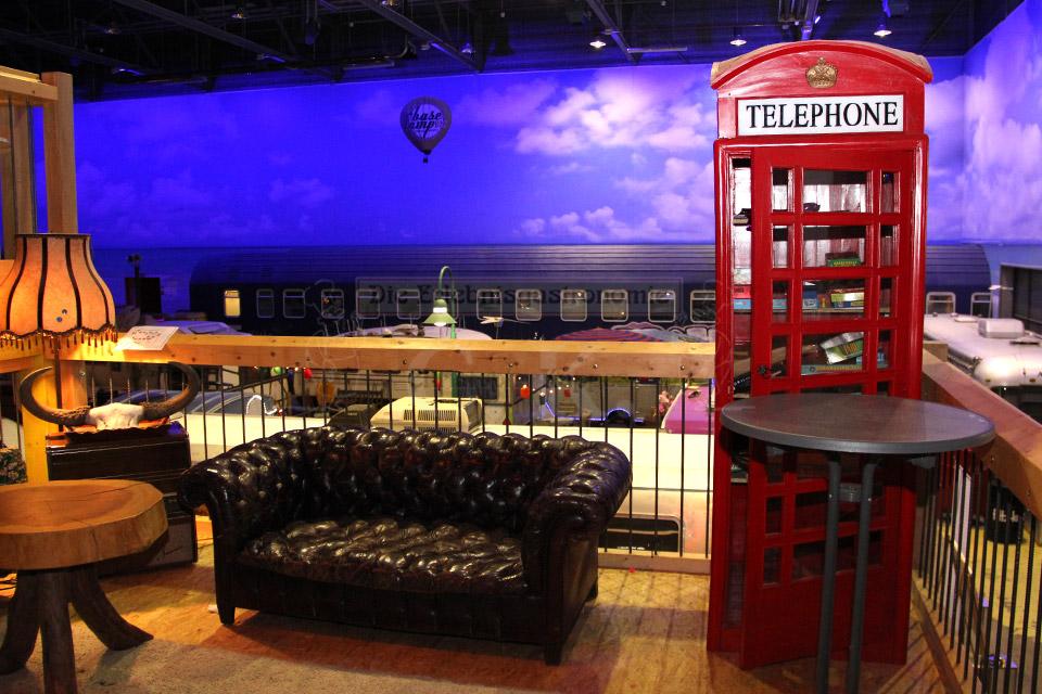 BaseCamp Telefonzelle