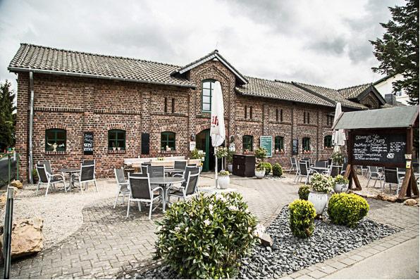 Burg Niederpleis Hof und Gebäude