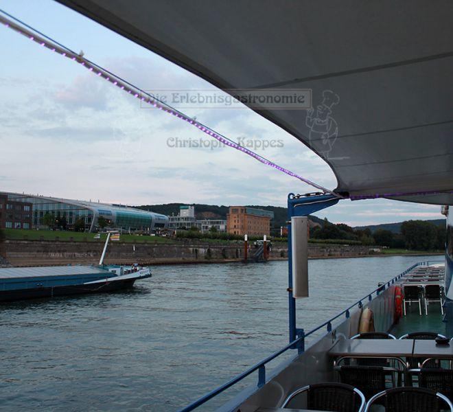 MS Moby Dick Ausblick aufdas Wasser