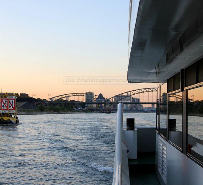 MS Rheinprinzessin Ausblick vom Deck