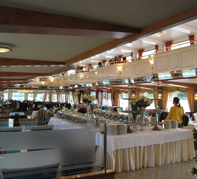 MS Rheinprinzessin Buffet an Bord