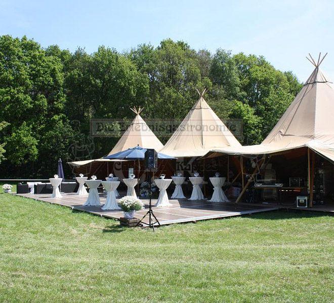 Tipi-Zelt für feierlichen Anlass
