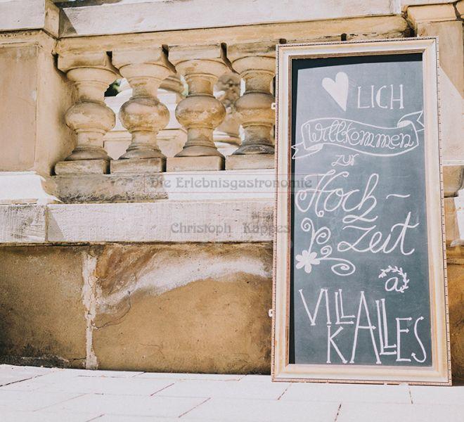 Villa Kalles Empfangsschild