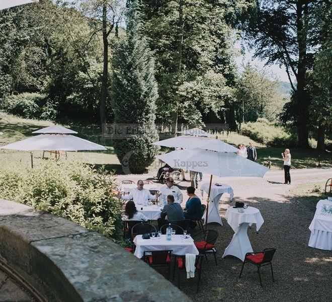 Villa Kalles Feiern im Außenbereich