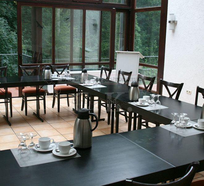 Bonngarten minimalistische Raumnutzung