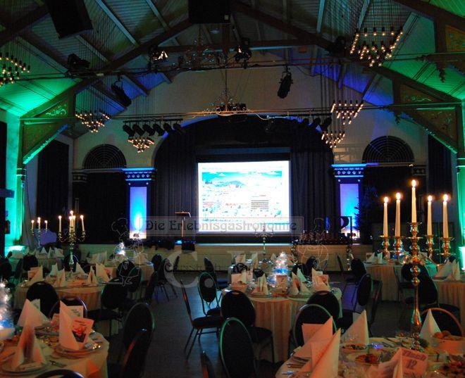 Bürgerhaus Saal zur KÜZ Präsentation mit Abendessen