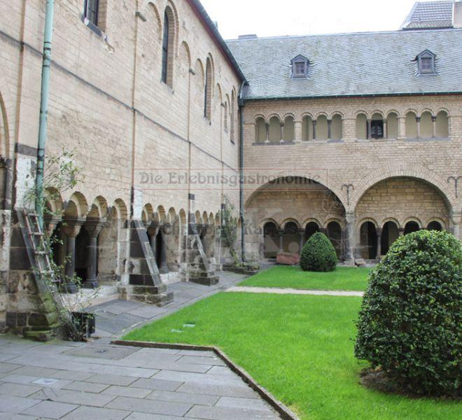 Münster-Carre Innenhof und Bauwerk