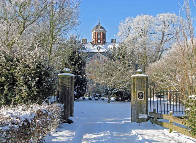 Schloss Arff im Winter