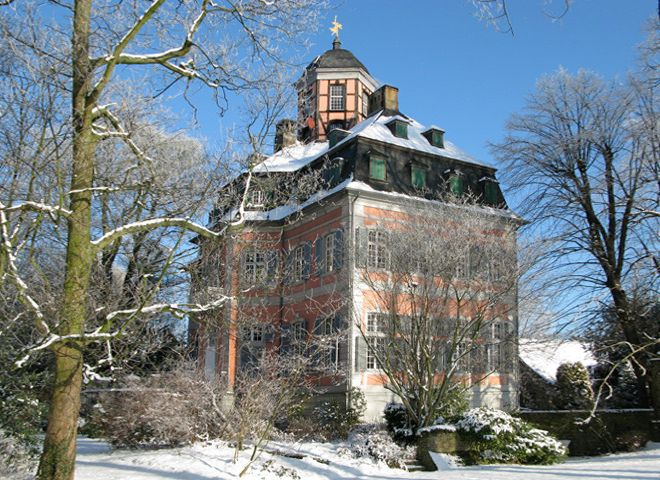 Schloss Arff im Schnee