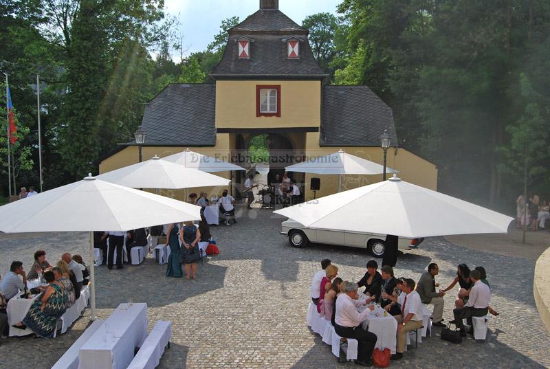 Schloss Eulenbroich Außenbereich