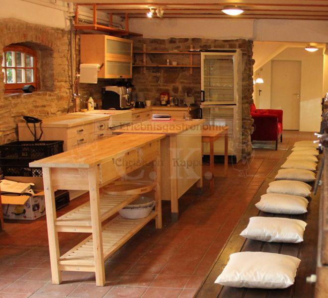 Seminarhaus Much mit offener Küche