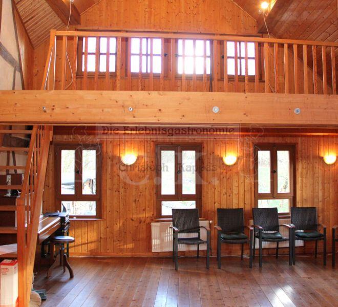 Seminarhaus Much Galerie und großzügiger Raum