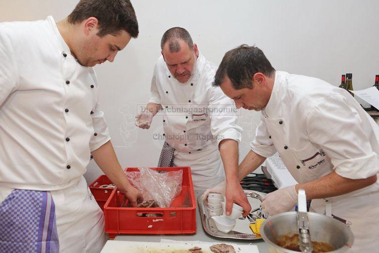 Vorbereitung des Essens