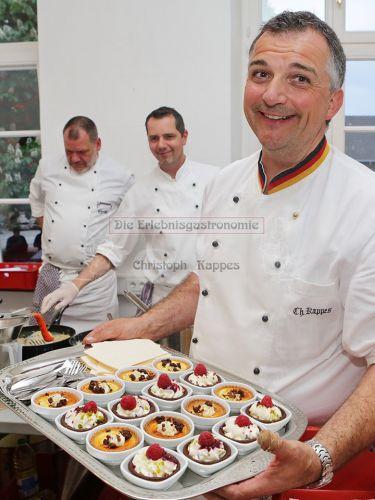 Präsentation Dessertvariationen durch Christian Kappes