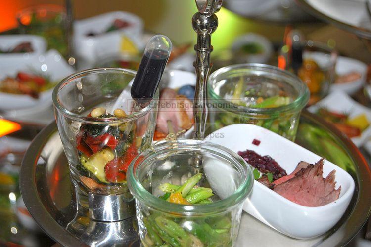Essen im Glas